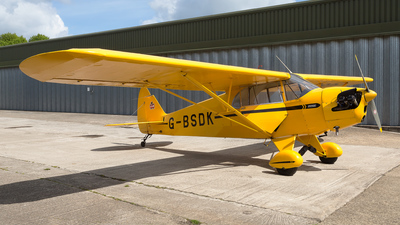 G-BSDK - Piper J-5A Cub Cruiser - Private