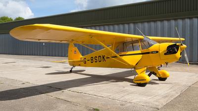 A picture of GBSDK - Piper J5A Cub Cruiser - [5175] - © Michael Brazier