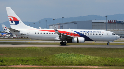 A picture of 9MMXG - Boeing 7378H6 - Malaysia Airlines - © Vicknesh PS