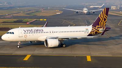 VT-TQH - Airbus A320-251N - Vistara