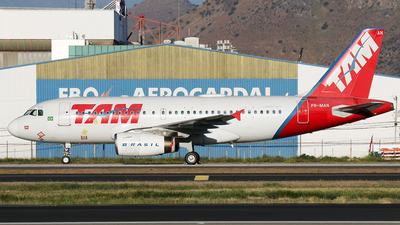 PR-MAN - Airbus A319-132 - TAM Linhas Aéreas