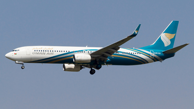 A picture of A4OBT - Boeing 73791M(ER) - Oman Air - © Hassaan Ali Khan