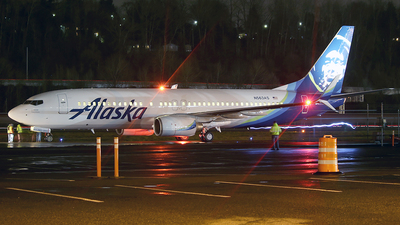 N563AS - Boeing 737-890 - Alaska Airlines