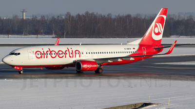 D-ABKW - Boeing 737-86J - Air Berlin