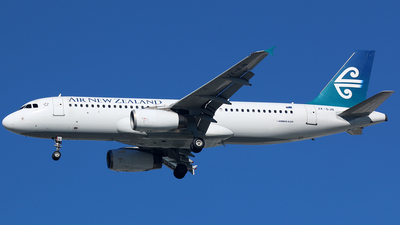 ZK-OJN - Airbus A320-232 - Air New Zealand