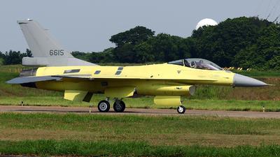 6615 - General Dynamics F-16AM Fighting Falcon - Taiwan - Air Force
