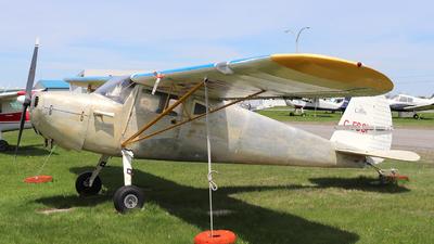 C-FDCI - Cessna 140 - Private