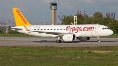D-AUAB - Airbus A320-251N - Pegasus Airlines
