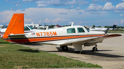 N7765M - Mooney M20C - Private