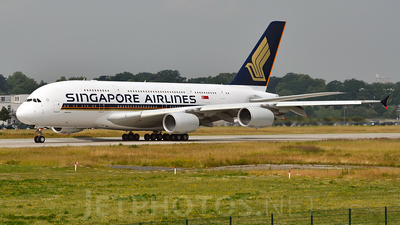 F-WWSA - Airbus A380-841 - Singapore Airlines