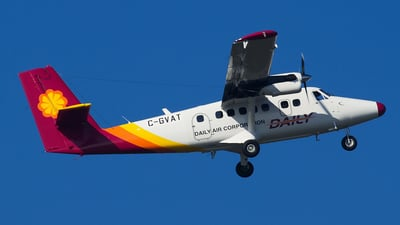 C-GVAT - Viking DHC-6-400 Twin Otter - Daily Air Corporation