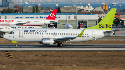 YL-BBL - Boeing 737-33V - Air Baltic