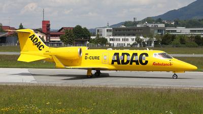 D-CURE - Bombardier Learjet 60XR - ADAC Luftrettung (Aero-Dienst)