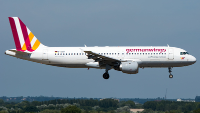 D-AIQH - Airbus A320-211 - Germanwings