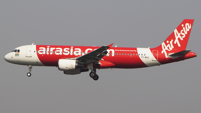 A picture of VTMLE - Airbus A320214 - AirAsia - © Akshay M