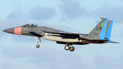 84-0010 - McDonnell Douglas F-15C Eagle - United States - US Air Force (USAF)