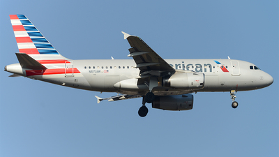 N815AW - Airbus A319-132 - American Airlines