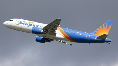A picture of N261NV - Airbus A320214 - Allegiant Air - © Jeremy D. Dando