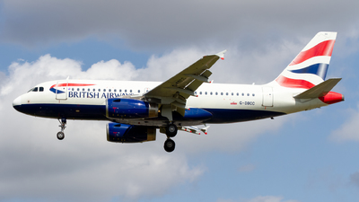 G-DBCC - Airbus A319-131 - British Airways