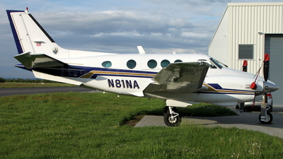 N81NA - Beechcraft C90 King Air - Private