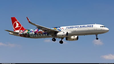 TC-JSL - Airbus A321-231 - Turkish Airlines