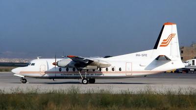 PH-SFE - Fokker F-27-300 Friendship - Schreiner Airways