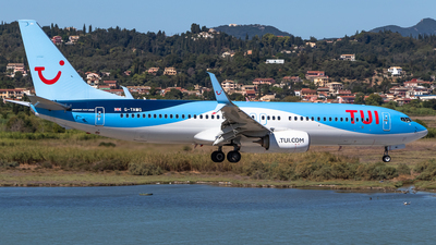 A picture of GTAWG - Boeing 7378K5 - TUI fly - © James Dinsdale