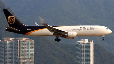 N342UP - Boeing 767-34AF(ER) - United Parcel Service (UPS)