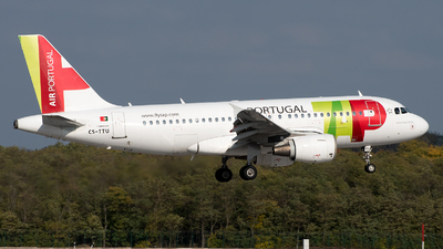 CS-TTU - Airbus A319-112 - TAP Air Portugal
