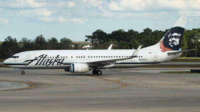 A picture of N538AS - Boeing 737890 - Alaska Airlines - © Diego Jara Ibarra