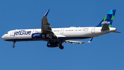 A picture of N958JB - Airbus A321231 - JetBlue Airways - © Wenjie Zheng