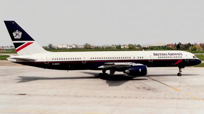 G-BIKK - Boeing 757-236 - British Airways