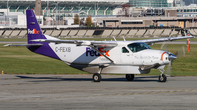 A picture of CFEXB - Cessna 208B Grand Caravan - FedEx - © Luft Spotter