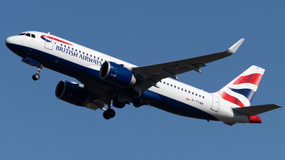 G-TTNK - Airbus A320-251N - British Airways