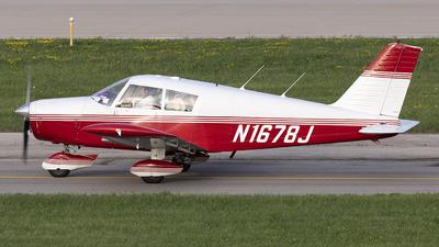 N1678J - Piper PA-28-140 Cherokee - Private