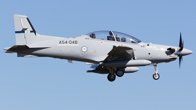 A54-048 - Pilatus PC-21 - Australia - Royal Australian Air Force (RAAF)