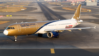 A picture of A9CCD - Airbus A321231 - Gulf Air - © Akshay M