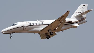 5A-DFN - Cessna Citation Latitude - Libya - Air Ambulance
