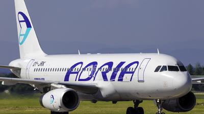 OY-JRK - Airbus A320-231 - Adria Airways