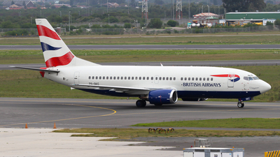ZS-OKC - Boeing 737-376 - British Airways (Comair)