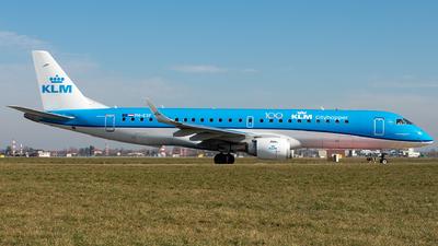 A picture of PHEXF - Embraer E190STD - KLM - © Alessandro Maggia