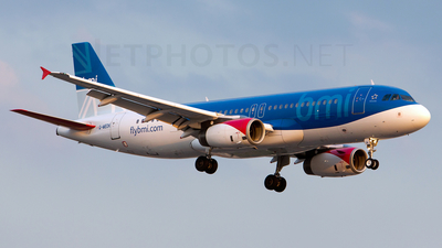 G-MEDK - Airbus A320-232 - bmi British Midland International