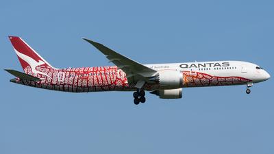 VH-ZND - Boeing 787-9 Dreamliner - Qantas