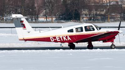 D-ETKA - Piper PA-28RT-201T Turbo Arrow IV - Private