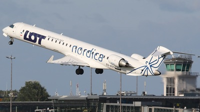 ES-ACK - Bombardier CRJ-900 - LOT Polish Airlines (Nordica)