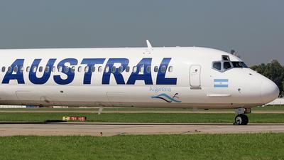 LV-VBX - McDonnell Douglas MD-88 - Austral Líneas Aéreas