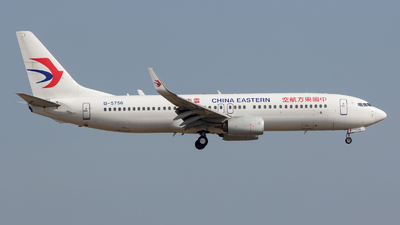 B-5756 - Boeing 737-89P - China Eastern Airlines