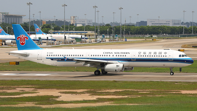 A picture of B2283 - Airbus A321231 - China Southern Airlines - © SEN BAI
