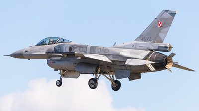 4074 - Lockheed Martin F-16C Fighting Falcon - Poland - Air Force
