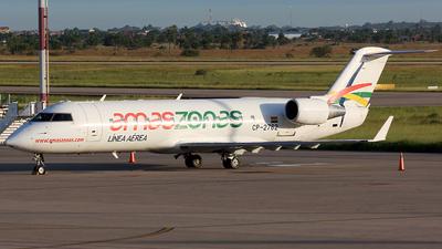 A picture of CP2762 - Mitsubishi CRJ200LR - Amaszonas - © La Roche Spotters